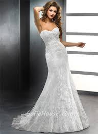 trumpet wedding dresses trumpet mermaid sweetheart vintage lace wedding dress with