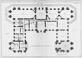 file palais de bourbon plan au rez de chaussée architecture