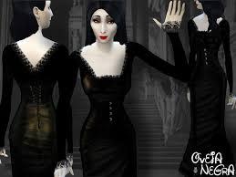 Morticia Addams Dress Ovejanegra U0027s Morticia Dress