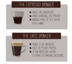 what your drink says about your personality what does your coffee say about your personality brewed daily
