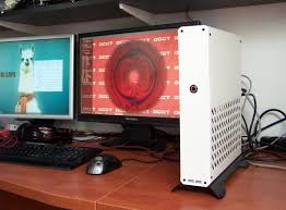 Console Gaming Desk by Sentry Console Sized Gaming Pc Case Project H Ard Forum