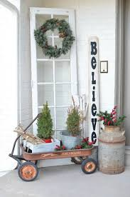 How To Decorate Your House For Christmas Outside House Christmas On The Front Porch