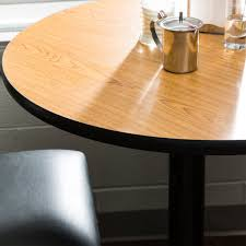 laminated wood table top table seating 36 laminated round table top reversible walnut oak