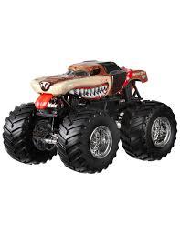 scooby doo monster jam truck toy hotwheels monster jam truck 68501