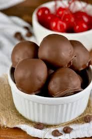 chocolate covered cherry brownie bombs wine u0026 glue