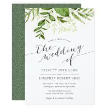 botanical wedding invitations announcements zazzle