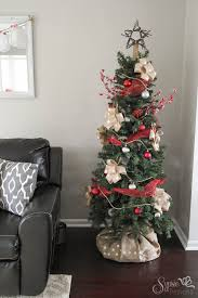 burlap christmas tree burlap christmas tree wrap a skirt alternative sypsie designs