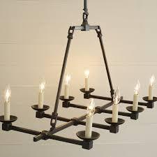 Candle Pendant Light Kassel Iron Pendant L Williams Sonoma