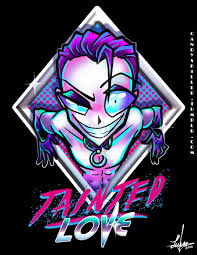 tainted love 80s shirt design by candys killer on deviantart