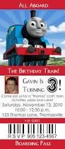 thomas the tank engine birthday party invitations cool birthday