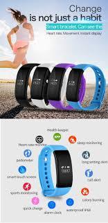 heart rate bracelet iphone images V66 bluetooth 4 0 waterproof ip68 smart bracelet heart rate jpg