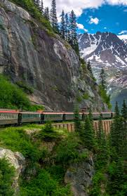 All aboard the white pass summit route excursion in skagway