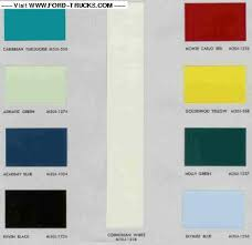 original color match ppg paint codes ford truck enthusiasts forums