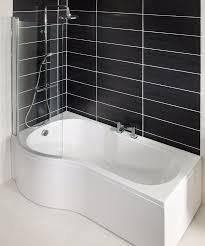 28 glass shower bath screen pivot shower screen glass bath glass shower bath screen p shape shower bath right hand1700 includes glass shower