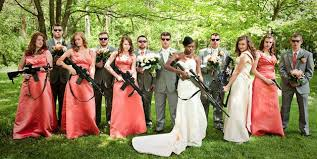 wedding wishes reddit wedding photos guns galore animallove99 via reddit
