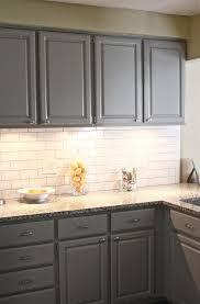 Subway Tile For Kitchen Backsplash Innovative Grey Subway Tile Backsplash Kitchen 103 Grey Kitchen