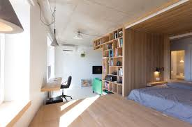 super small studio apartment under 50 square meters includes