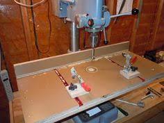 Diy Drill Press Table by My Drill Press Table U0026 Mobile Base Drill Press And Jigs
