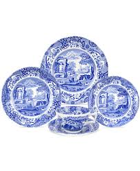 spode dinnerware blue italian collection dinnerware dining