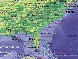 map usa southeast of united states southeast