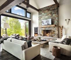 modern rustic homes modern rustic homes interior home living and dining room ideas