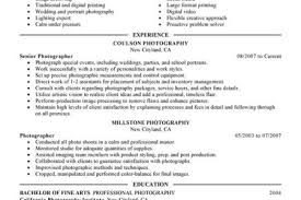 Sample Photography Resume by Photography Studio Manager Resume Reentrycorps