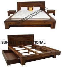 modern wooden bed design crowdbuild for