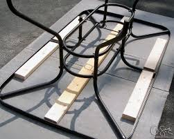 Patio Table Top Remodelaholic How To Replace A Patio Table Top With Tile