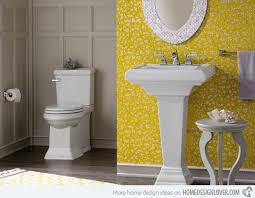 yellow bathroom ideas 15 charming yellow bathroom design ideas home design lover