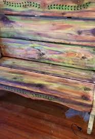 giving new life to my old bench unicorn spit challenge hometalk