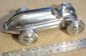 cast aluminum midget indy racer race car model sculpture 30 u0027s