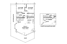 House Plans Walkout Basement by Transforming A Frame Cabin Plans Via Relaxshacks Nesting House