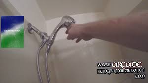 Glacier Bay Faucet Leaking From Neck by Drip Test For Water Dripping Shower Head Wand Or Cartridge Leaking