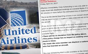 united airlines announces new overbooking policy changes b
