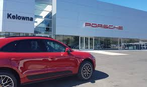 porsche showroom porsche opens 4th b c dealership