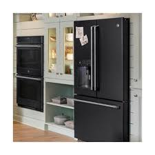 white kitchen cabinets with black slate appliances top 4 trends in kitchen appliances