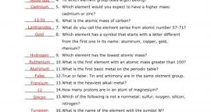 periodic table scavenger hunt answer key periodic table scavenger hunt worksheet inspirational answer key to