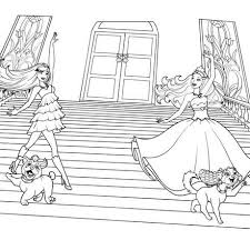 barbie princess popstar colouring pages games periodic