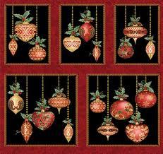 a festive season festive ornaments panel black