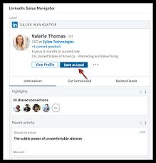 linkedin ca linkedin sales navigator online help zoho crm