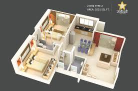 sanjeevani 2 bhk spacious budget homes