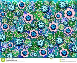 60s design 60 u0027s flower pattern stock illustration image of graphic 33828539