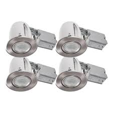 Bazz Lighting Fixtures Bazz 3 85 In Slim Brushed Chrome Multidirectional Recessed