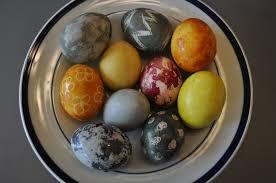 easter egg dye tea repurposed tea dyed easter eggs