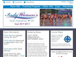Map Indy Indy Women U0027s Half Marathon And 5k Indianapolis In Sep 30 2017