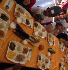 foods at the first thanksgiving thanksgiving friendship dinner country acres child development