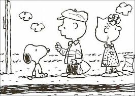 snoopy coloring pages minister coloring