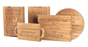 personalised cutting board personalised oak chopping board products and chopping boards