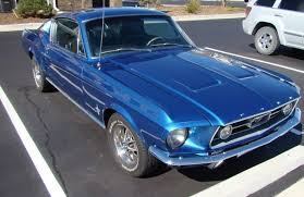 1967 blue mustang 1967 ford mustang fastback 289 4 speed acapulco blue deluxe int