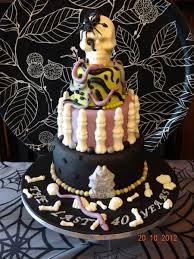 halloween birthday cakes gothic halloween birthday cake cakecentral com